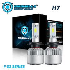 2x H7 LED Headlight Bulb High Beam Turbo Light 300000LM 2000W 6000K Xenon White