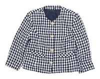 C&A Womens Size 12 Check Multi-Coloured Jacket