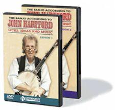 The Banjo According to John Hartford Two-Dvd Set Dvd Instructional New 000641656