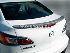Mazda 3 2009 2010 2011 2012 2013 unpainted lip spoiler trunk abs
