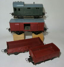 Trix DB freightwagons - - - -- goederenwagons
