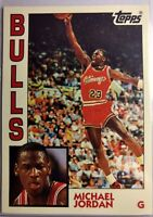 1993 Topps 1984 Topps Archives Michael Jordan Rookie RC Retro #52, Chicago Bulls