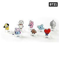 BTS BT21 Official Authentic Goods monopoly Acrylic Magnet Stand 8SET KPOP