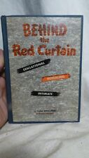 """""""Behind The Red Curtain""""-Post WW2 1948 Cold War Novelty Item- Gags,Tricks, Jokes"""