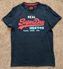 Superdry Vintage Logo Short-Sleeve T-shirt Navy Large