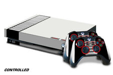 Designer Skin for Xbox One X Gaming Console +2 Controller Sticker Decals CONTRLL