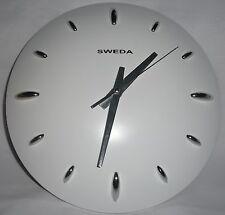 White DOME WALL CLOCK - New Circle analog time