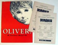 OLIVER! ~ 1965 Theatre Program with BONUS