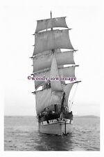 rs0115 - UK Sailing Ship - Raupo , built 1876 - photograph