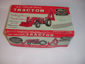1/10 Vintage Ford 1841 Industrial Remote Control Tractor by Craigston W/Box!