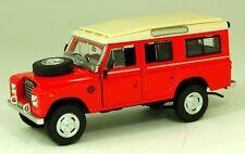 CARARAMA 251301 Land Rover 'Safari' Series III  Red 1/43 Scale New Boxed