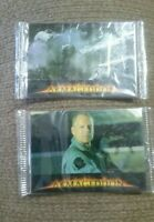 2 Armageddon Movie Promo Pack of Cards (#11 & #15) New Unopened Mint condition