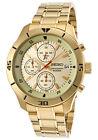 SCNP SKS404P1 Seiko Cronógrafo Hombre Chapado En Oro Inoxidable Reloj De Pulsera