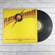 """Queen - Flash Gordon 12"""" Vinyl Album (Argentina) + Inner - 1980 - Rare"""