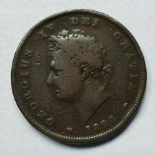 More details for extremely  rare 1826, george iv, one penny, key date