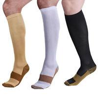 Sport Stocking Compression Socks 20-30mmHg Knee High Graduated Men Women S-XXL
