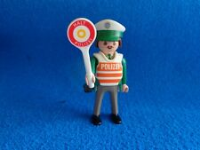 Playmobil Policia aleman signo stop policeman with stop sign Polizist Schild