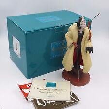 WDCC Disney 101 DALMATIANS CRUELLA DE VIL Perfectly Wretched Figurine Box & COA!