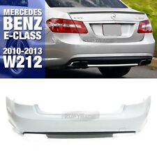 E63 AMG Style Rear Bumper Without PDC Hole For Mercedes Benz 10-13 E Class W212