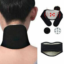 UNISEX MAGNETIC NECK SUPPORT SELF WARMING BRACE POSTURE  AID MOBILITY PAIN HELP
