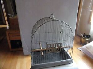 """HENDRYX  BIRD CAGE  SIZE 13.5 BY 9BY 15.""""   VINTAGE"""