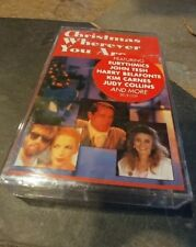 CHRISTMAS WHEREVER YOU ARE / VARIOUS / CASSETTE NEW SEALED,America, Air Supply