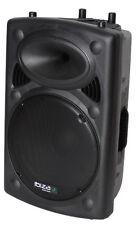 "Ibiza Slk-15 Passive 15"" Inch Disco DJ PA Speaker 700w Stage Monitor Top Hat"