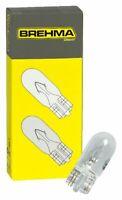 50x Brehma W5W 12V 5W Standlicht Kennzeichenlicht Autolampen T10 Glassockel
