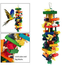 New listing Bird Chewing Toy Rope Knot Hanging Lovebirds Bite Toys Birds Accessories