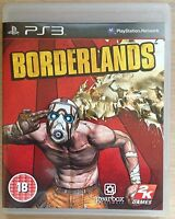 Sony PlayStation 3-Borderlands-Action-Adventure-Multiplayer Game-PS3-PAL-18+