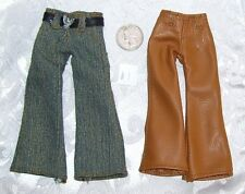 NEW LOT OF STANDARD SIZE BOYZ BOY BRATZ DOLL PANTS JEAN CLOTHES LOT #1