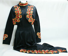 Dance (drill team) outfit for dancers, twirlers and skaters, pants bolero jacket