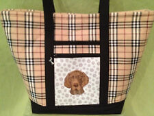 CLEARANCE!  Gorgeous Custom Emroidered  Pointer Tote