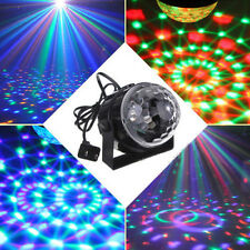 RGB LED MP3 DJ CLUB DISCO BAR PARTY CRYSTAL MAGIC BALL STAGE LASER LIGHT COLOR N