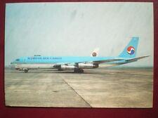 POSTCARD KOREAN AIR CARGO BOEING 707-321C