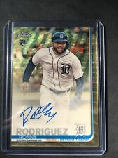 Ronny Rodriguez 2019 Topps Chrome Superfractor RC Auto 1/1 CSA-RR Tigers