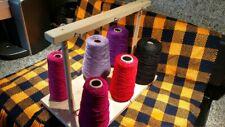 Weaving Yarn 6 Cone Holder Guide Bobbin Loom Warping Boat Shuttle Accessories