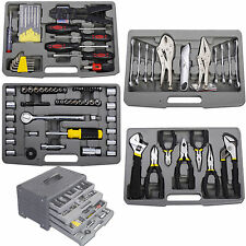 99pc Garage Tool Mechanic Set Case Shop Vehicle Car Automotive Repair Wrench Box