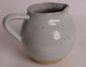 NIB Pottery Barn Artisanal Ivory ceramics: pitcher