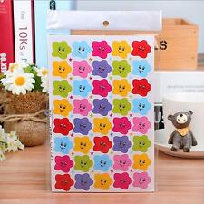 400Pcs Children Kids Stars Smile Face Reward Paper Stickers Gift for Students