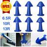 6PCS/Set Silicone Caulking Finisher Nozzle Spatulas Filler Spreader Tool Kits US