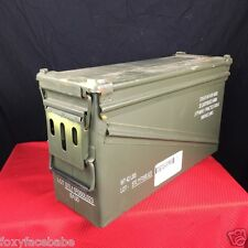 US Military Surplus 40MM AMMO CAN PA-120 Ammo Can Metal Storage Box | EUC