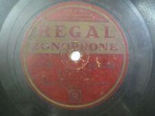 "LONDON PIANO ACCORDEON BAND MR 20120 INDIA INDIAN RARE 78 RPM RECORD 10"" VG+"