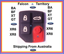 4 Button Key less Entry Remote pad only Ford Falcon BA BF TERRITORY XR6 XR8