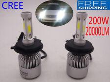 H1 H4 H7 H11 9005 200W 20000LM CREE LED Headlight Kit Car Bulbs Light Lamp 6000K