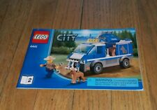 Lego City 4440 3 Instructional Manual Only Building Blocks Toy Legos 2012 Police