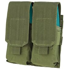 NEW CONDOR OD Green MOLLE PALS MA4 Double 4x 5.56 .223 Rifle Magazine Flap Pouch