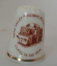 Nene Valley Railway Peterborough Thimble Goodlife Neale Bone China Alcester 9516