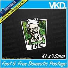 THC Sticker/Decal - JDM DRIFT VINYL Funny Dope Weed 420 Parody XTC LSD Ute 4x4