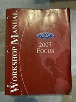 2007 Focus Shop Manual Ford Workshop Repair Service Book